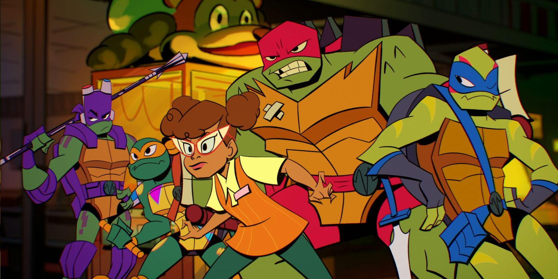 Rise of the Teenage Mutant Ninja Turtles Influenced by Batman '66