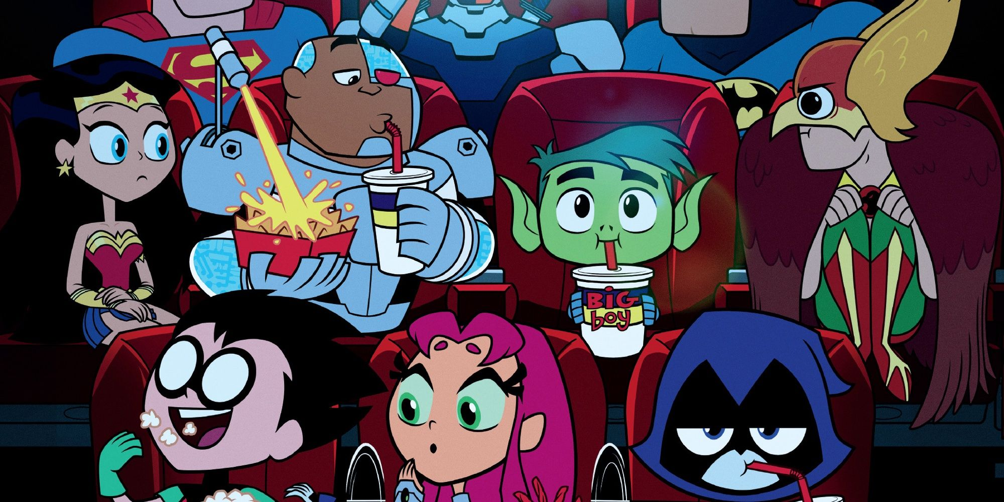 teen titans go to the movies review screenrant