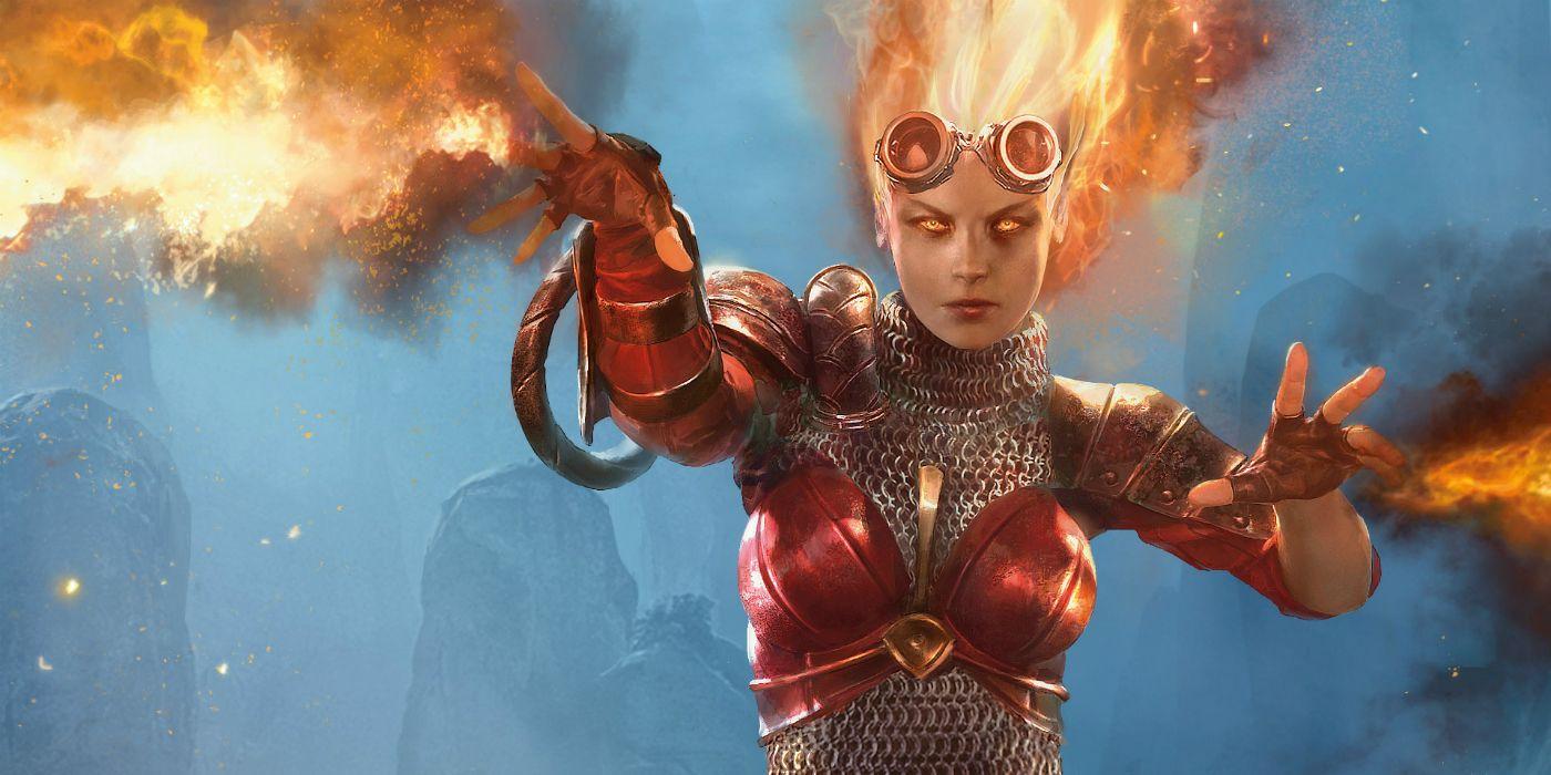 Magic: The Gathering Launching New Chandra Nalaar Comic Book Series This Fall
