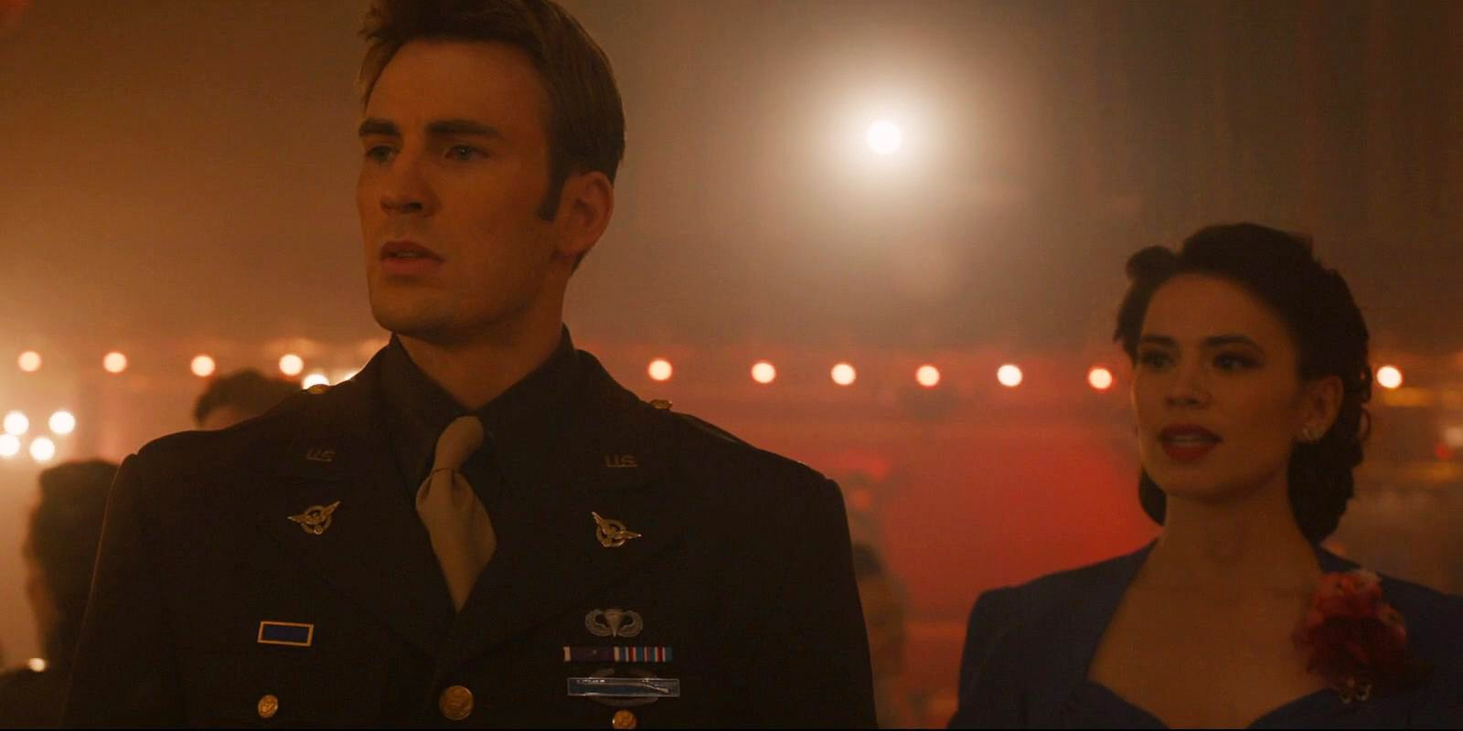 Captain America And Peggy Dance Endgame Song