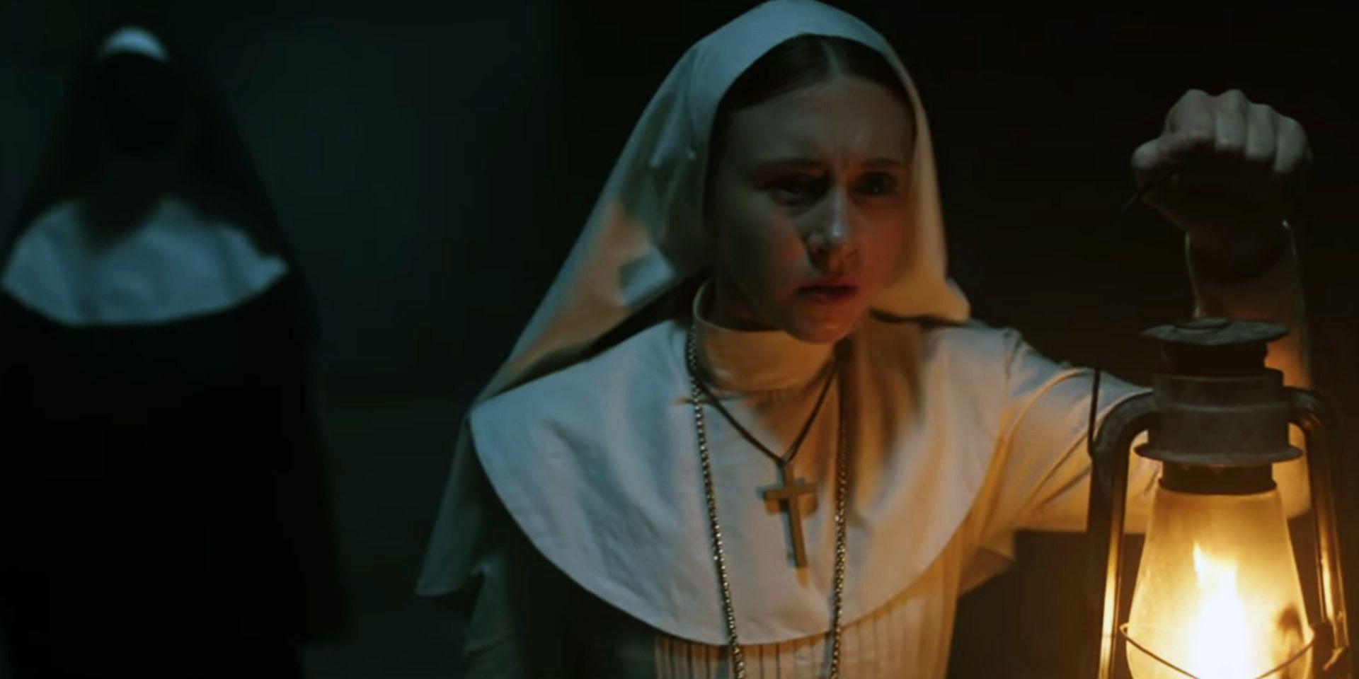 Проклятие монахини - концовка