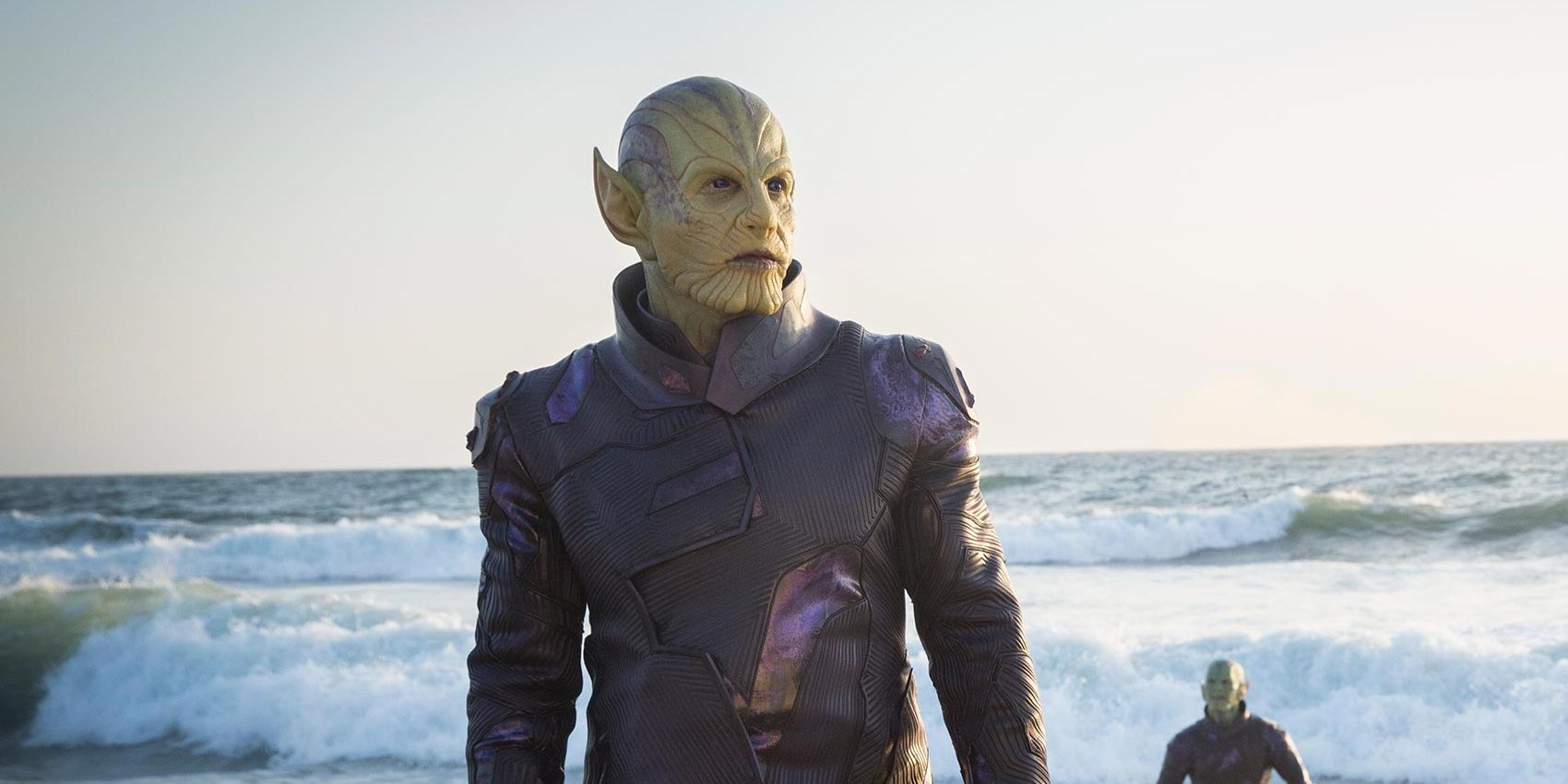 Captain Marvel Movie Image First Look At Skrulls In The Mcu
