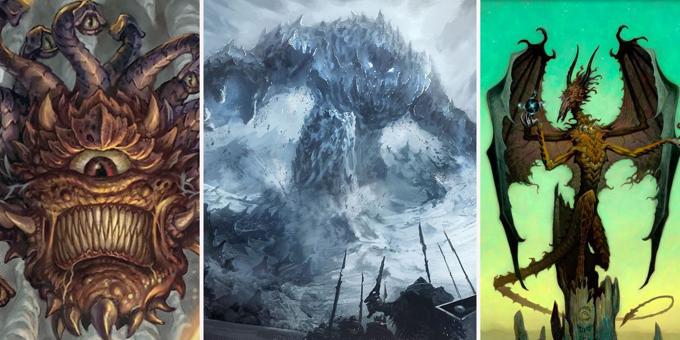 Dungeons & Dragons: The 20 Most Powerful Creatures, Ranked