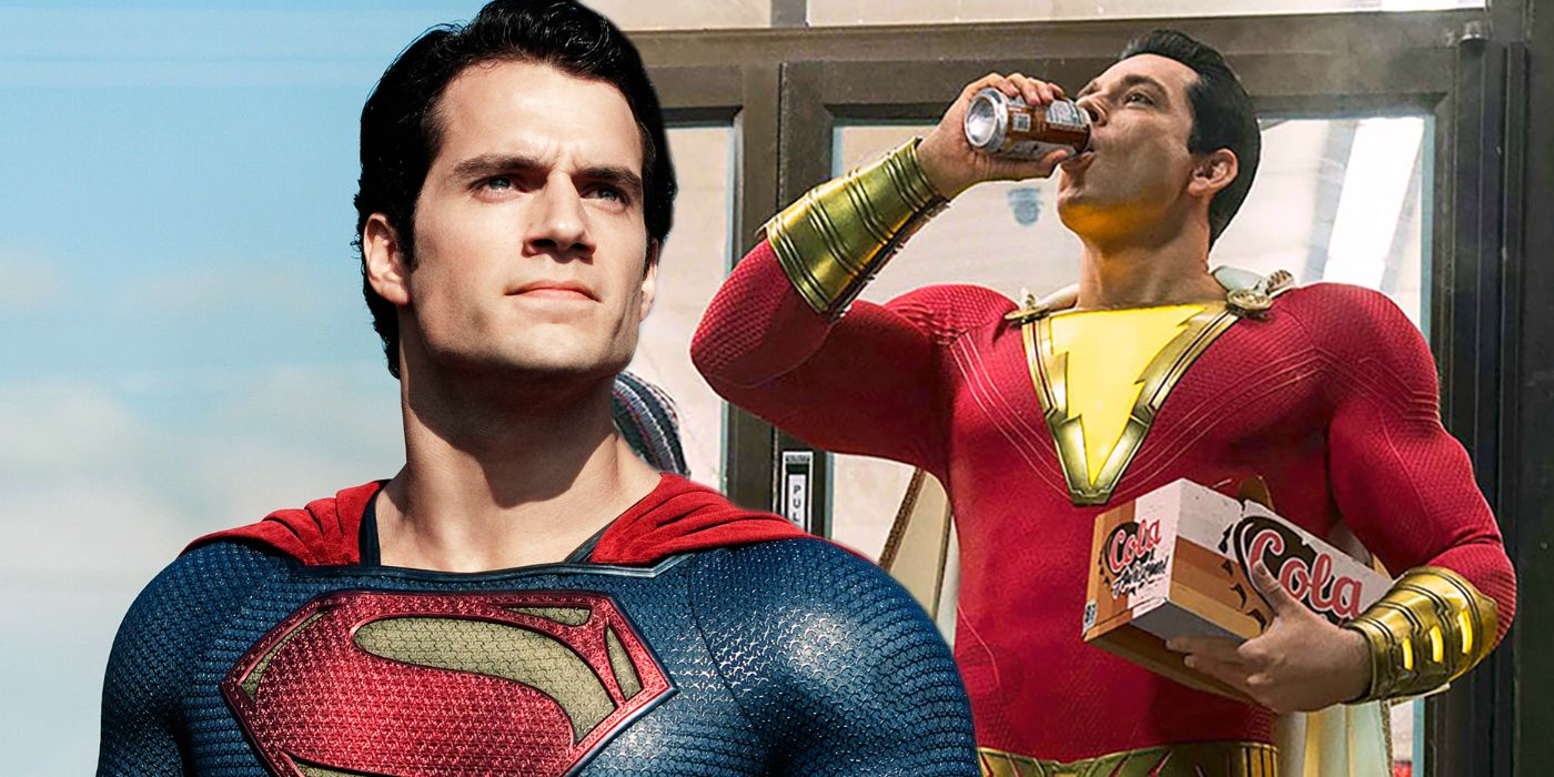foto Henry Cavill's Superman Might Appear in Shazam' With Zachary Levi: Report