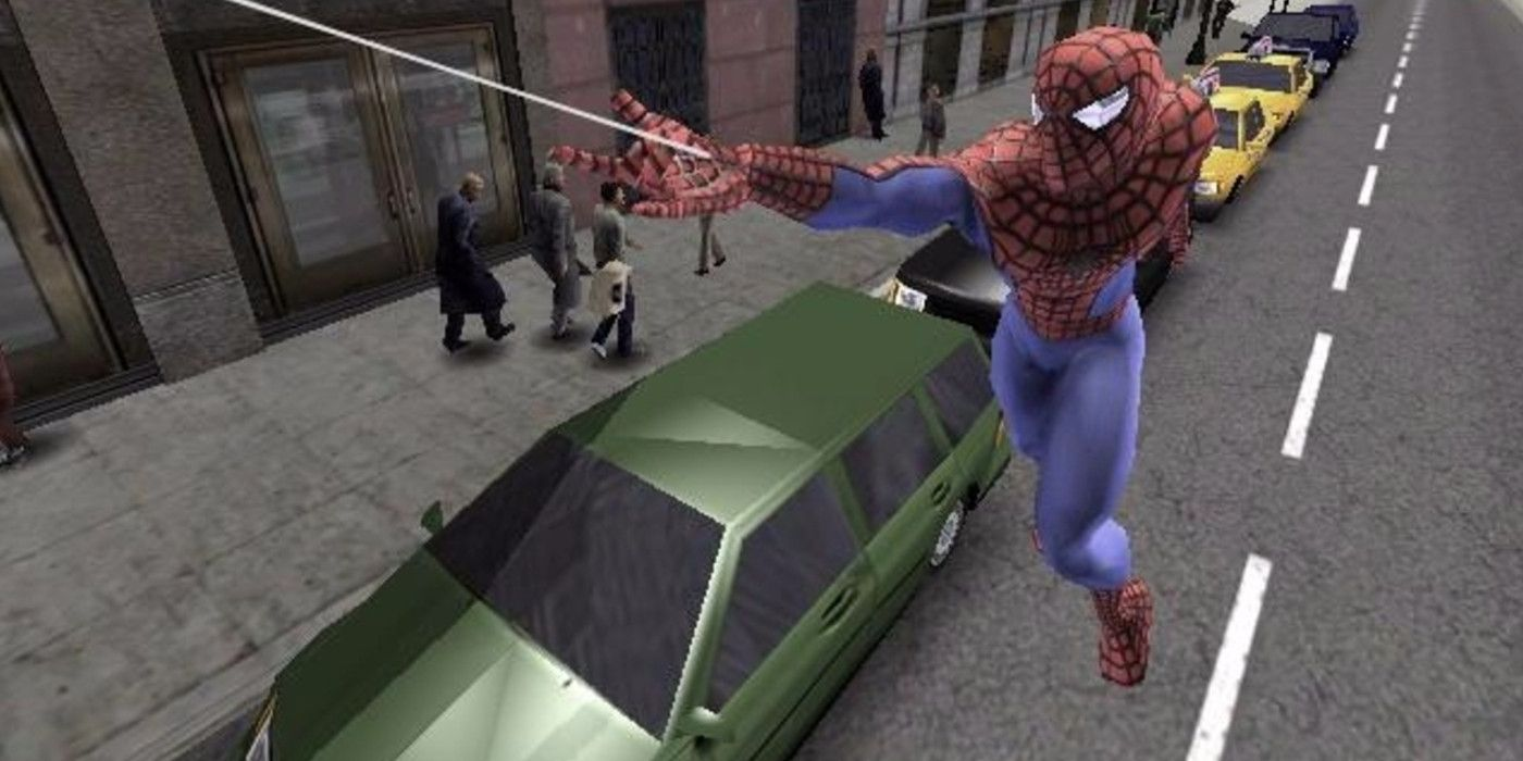 spider-man ps4 has a cool throwback to classic spider-man 2 game