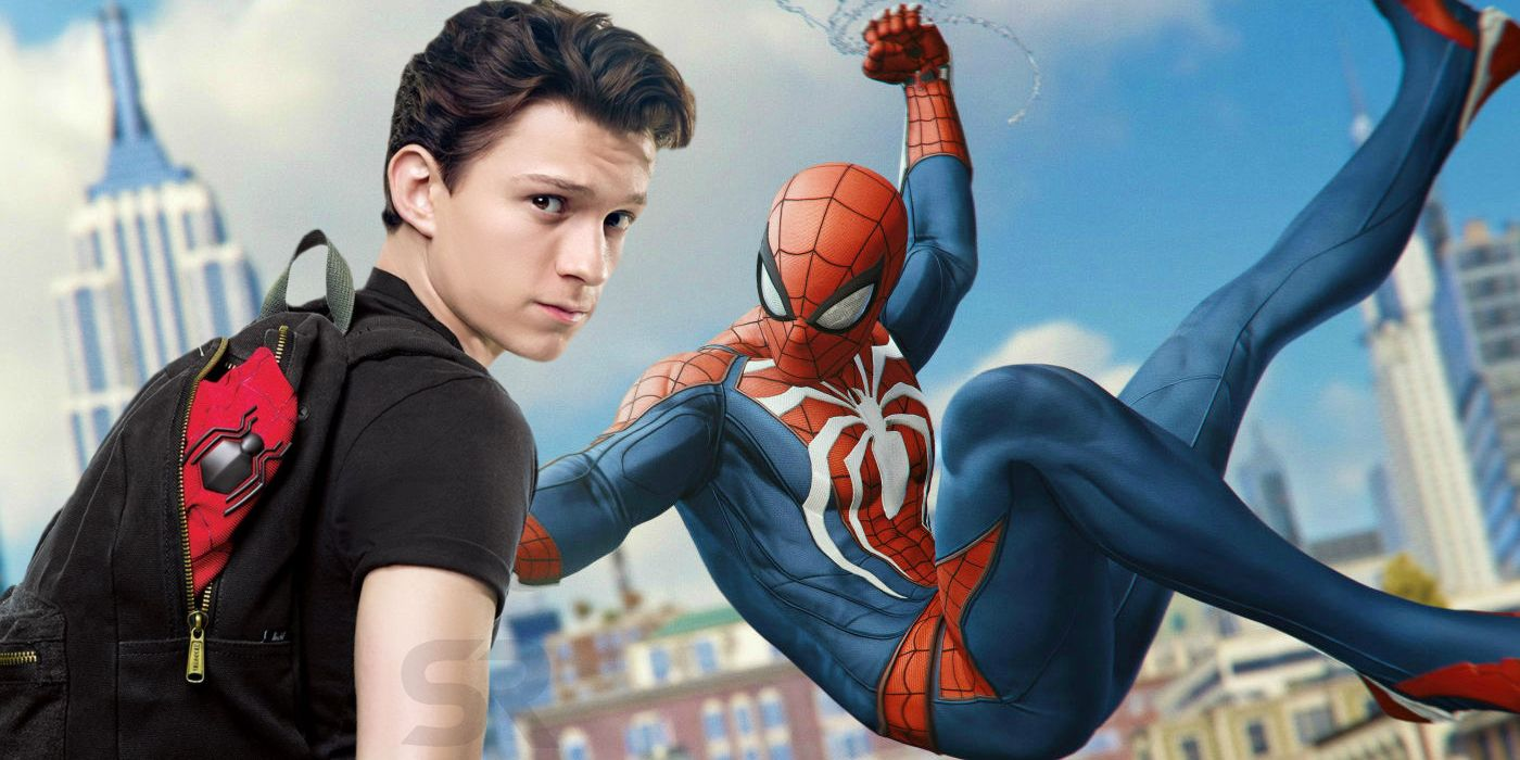 Spider-Man PS4 Includes a Tom Holland Homecoming Reference