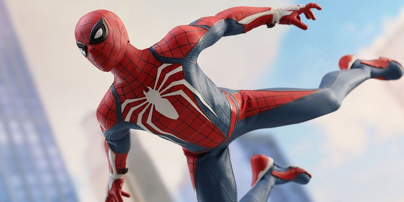 Every Spider-Man PS4 Costume In One Sweet Cutscene | Screen Rant