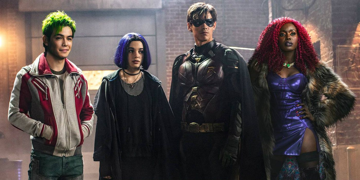 Titans Movie 2019 Poster: DC Universe's Titans Image: First Look At The Team United