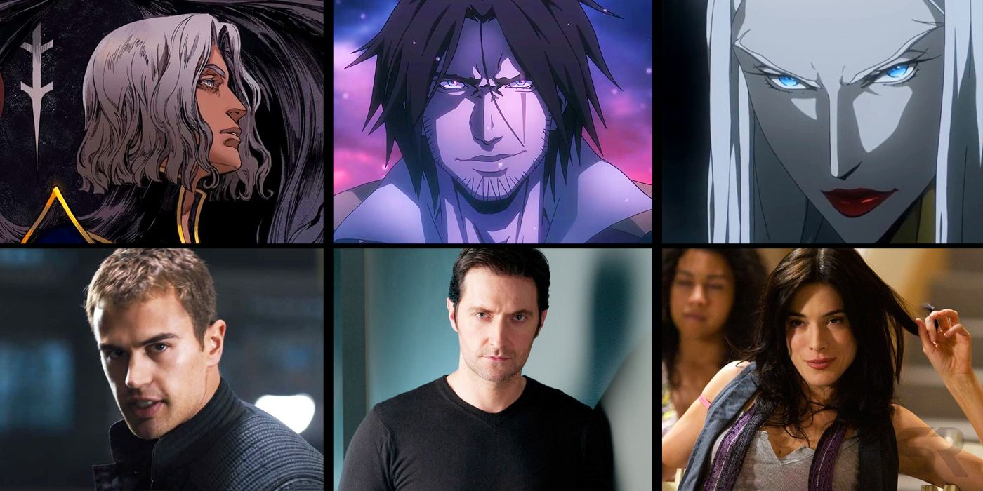 Castlevania Cast from Season 2