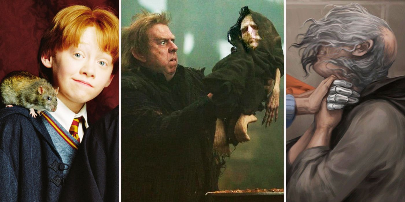 Harry Potter: 20 Crazy Details Only True Potterheads Knew About Wormtail
