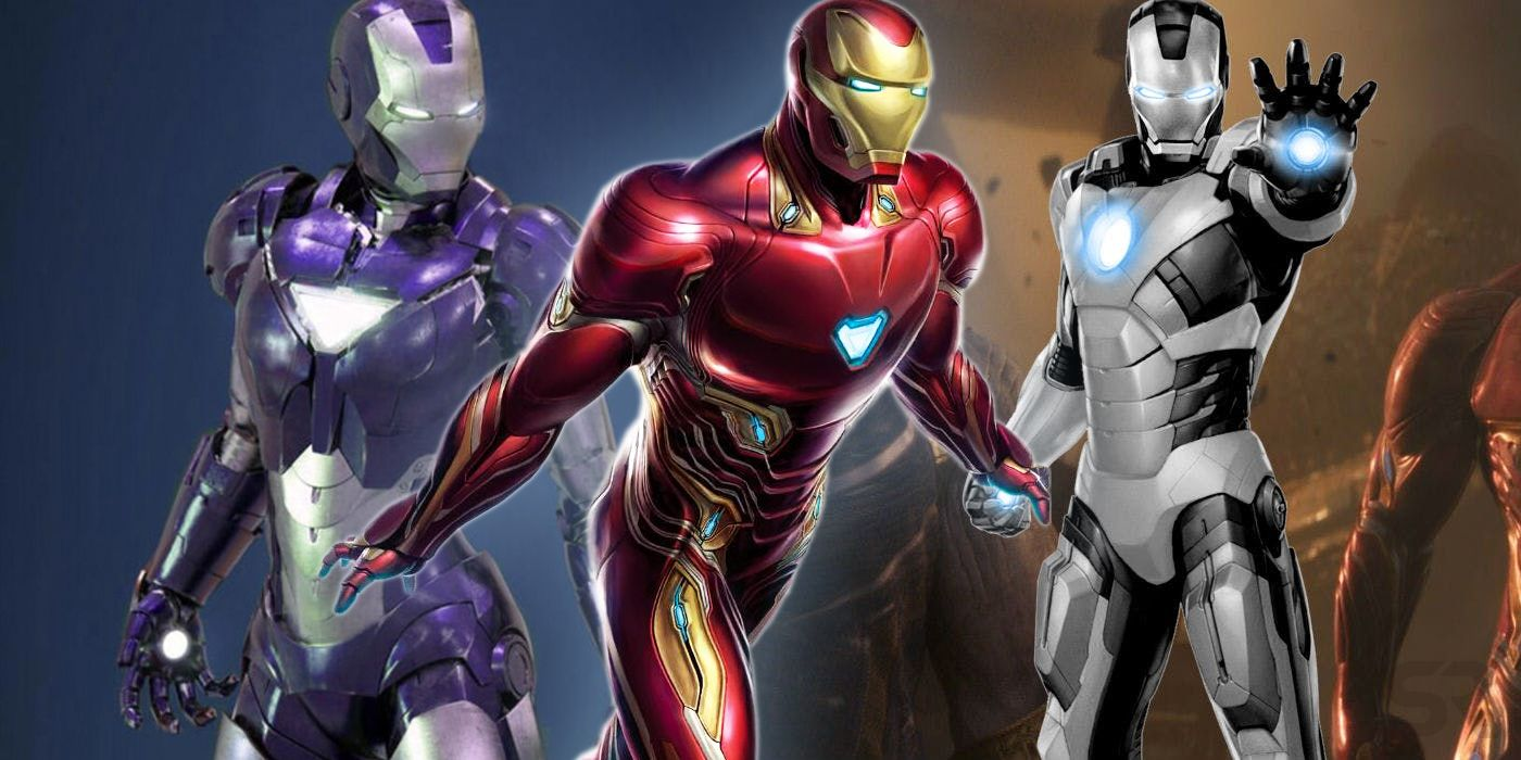 Avengers 4 Every New Iron Man Armor Rumored So Far