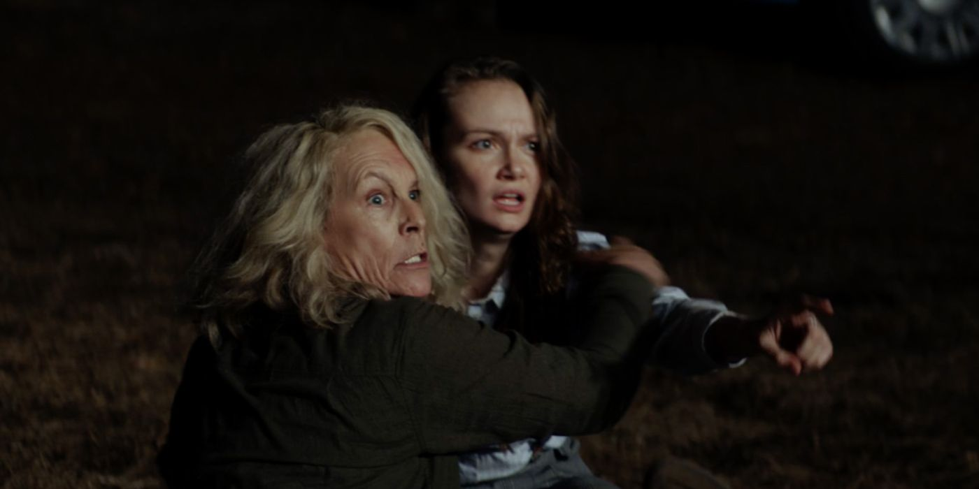 Halloween 2018 Alternate Ending Reveals Deleted Laurie Vs Michael Fight