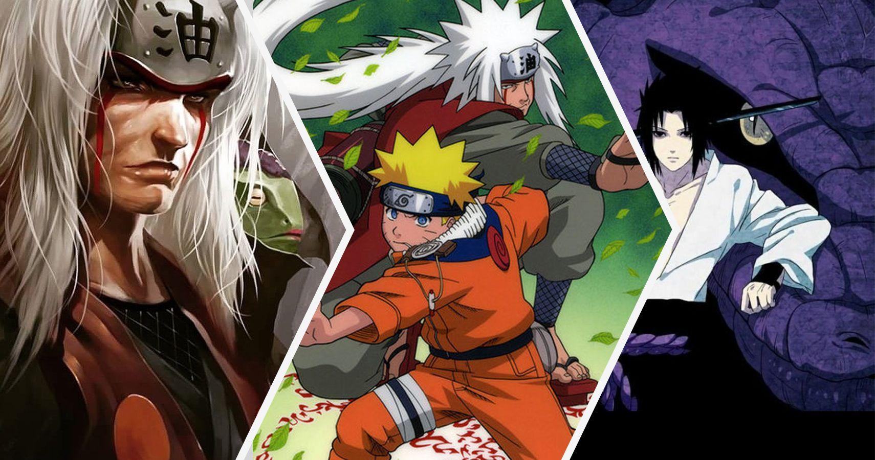 Naruto 20 Things About Jiraiya That Make No Sense Screenrant