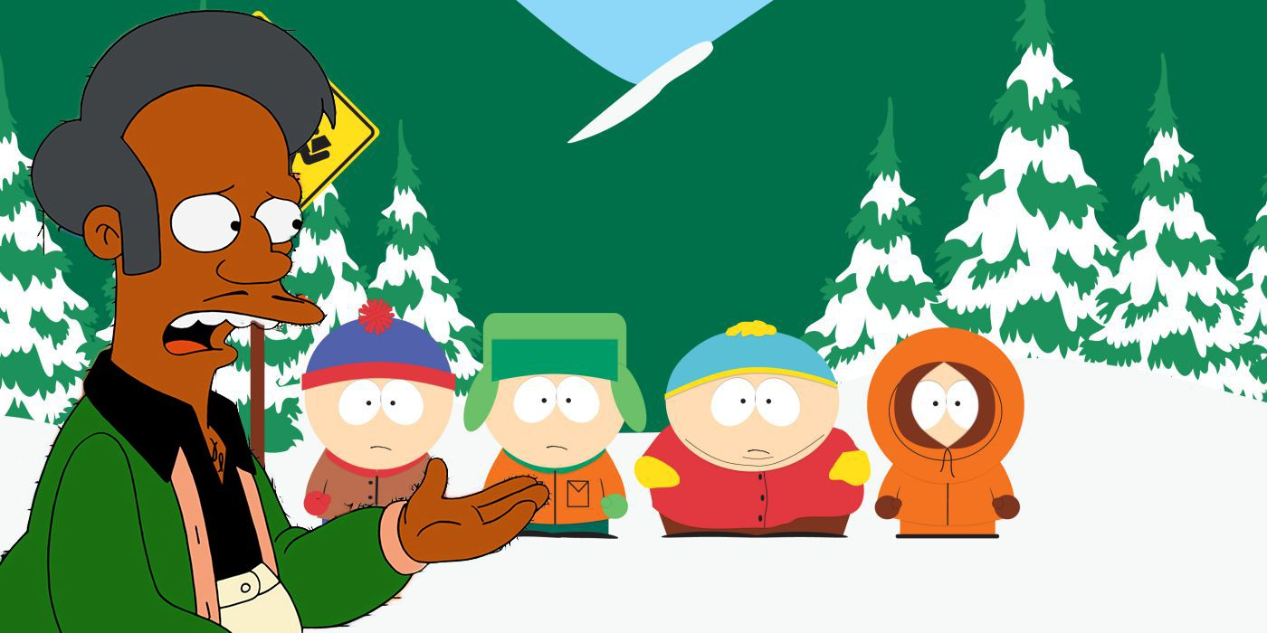 South Park Slams Simpsons Over Apu Response & Calls for Cancellation