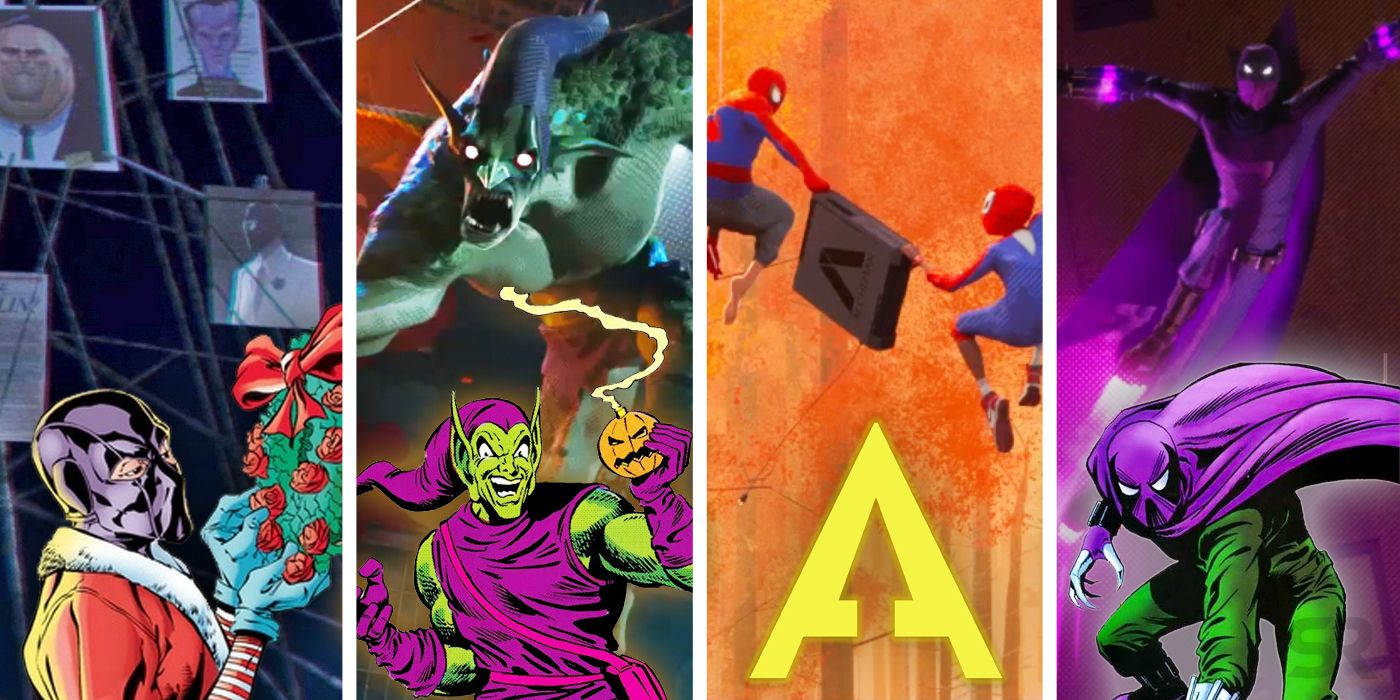 Every Spider Man Villain Confirmed For Into The Spider Verse