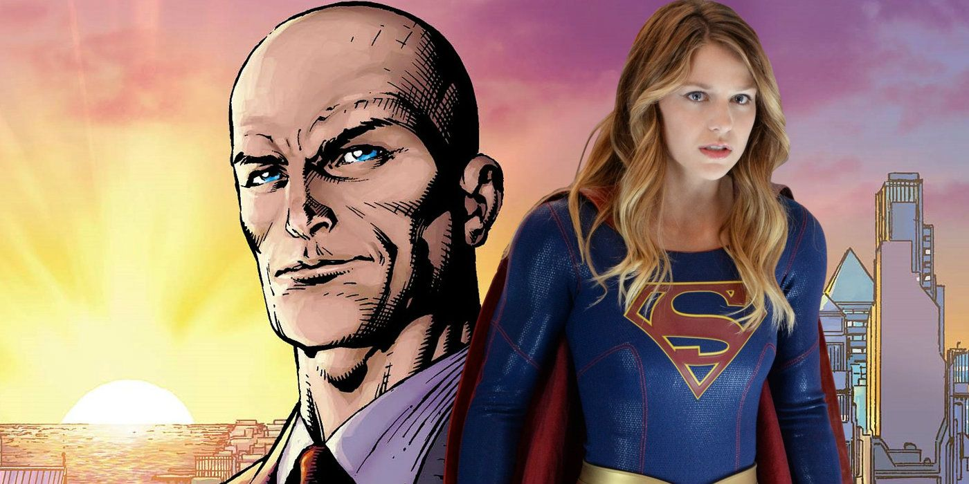 New tv show with girl dating lex luthor