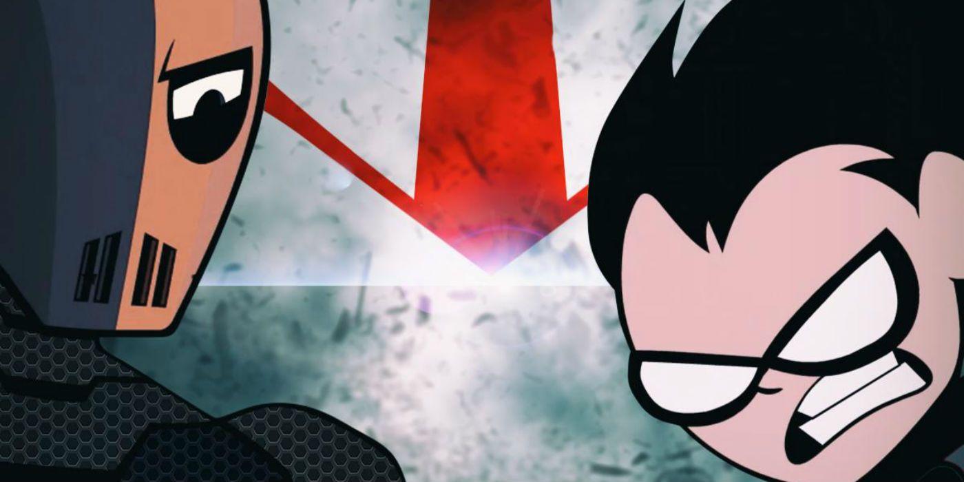 Teen Titans GO! Parodies Batman V Superman Poster For Halloween