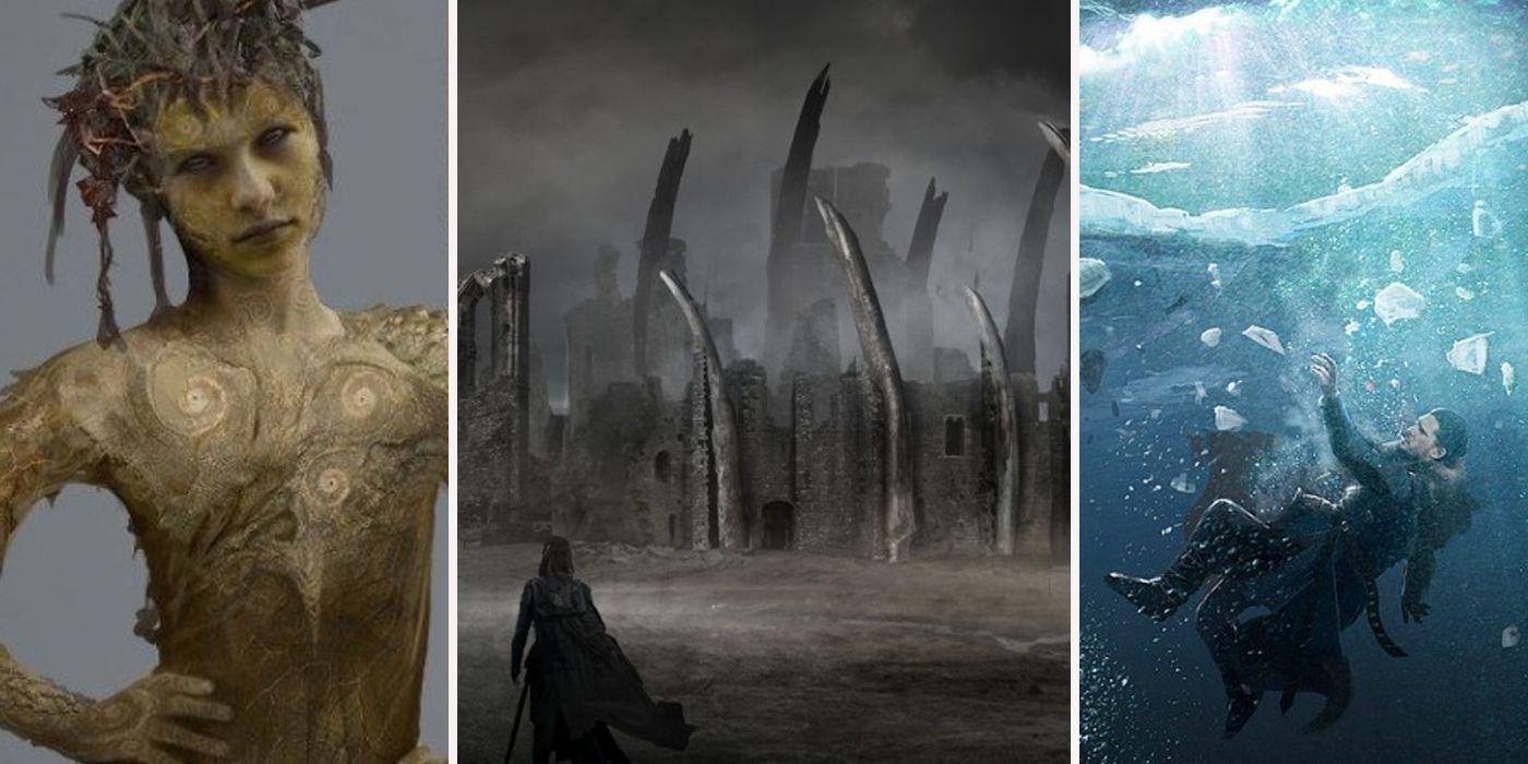 Unused Game Of Thrones Concept Art