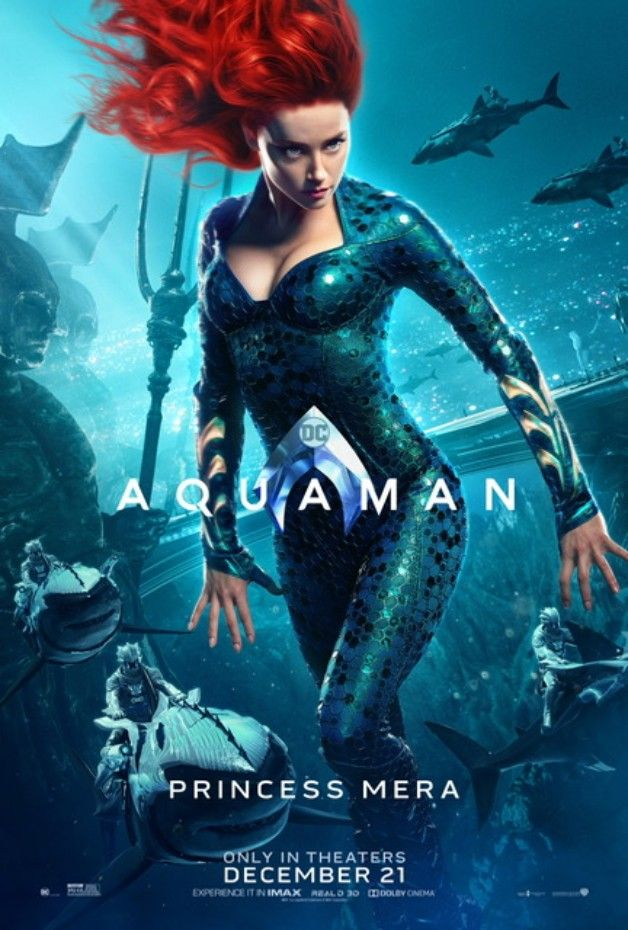 Aquaman de James Wan (2018) Avec Jason Momoa  - Page 15 Aquaman-Mera-Solo-Poster