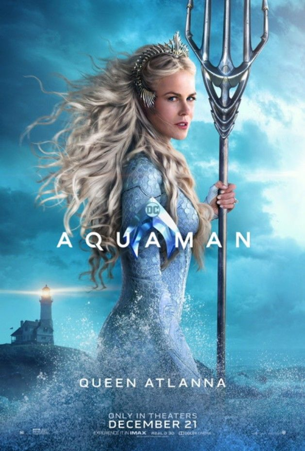 Aquaman de James Wan (2018) Avec Jason Momoa  - Page 15 Aquaman-Queen-Atlanna-Solo-Poster