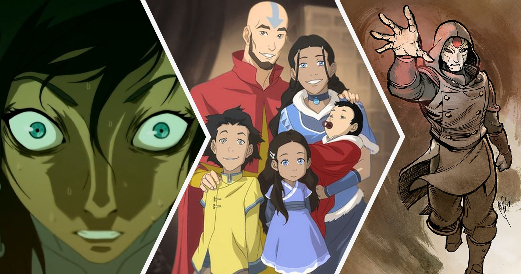 Speaking, opinion, Avatar the last airbender fan characters