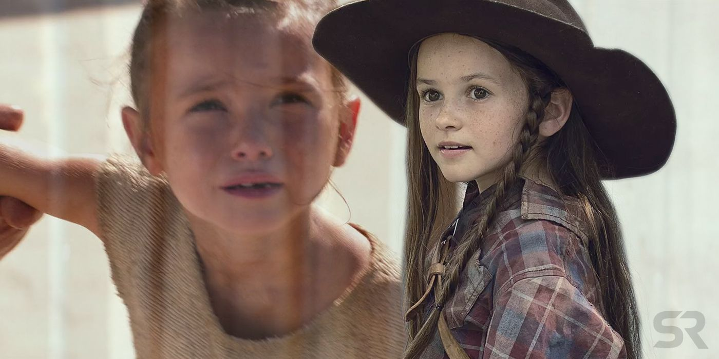 The Walking Dead's Judith Grimes Actor Also Played Young Rey In Star Wars