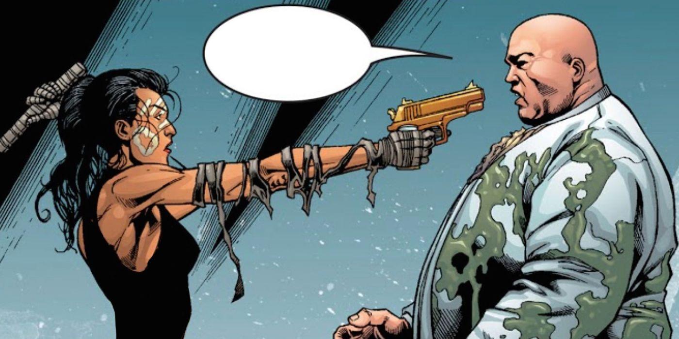 Marvel Comics Echo dan Kingpin