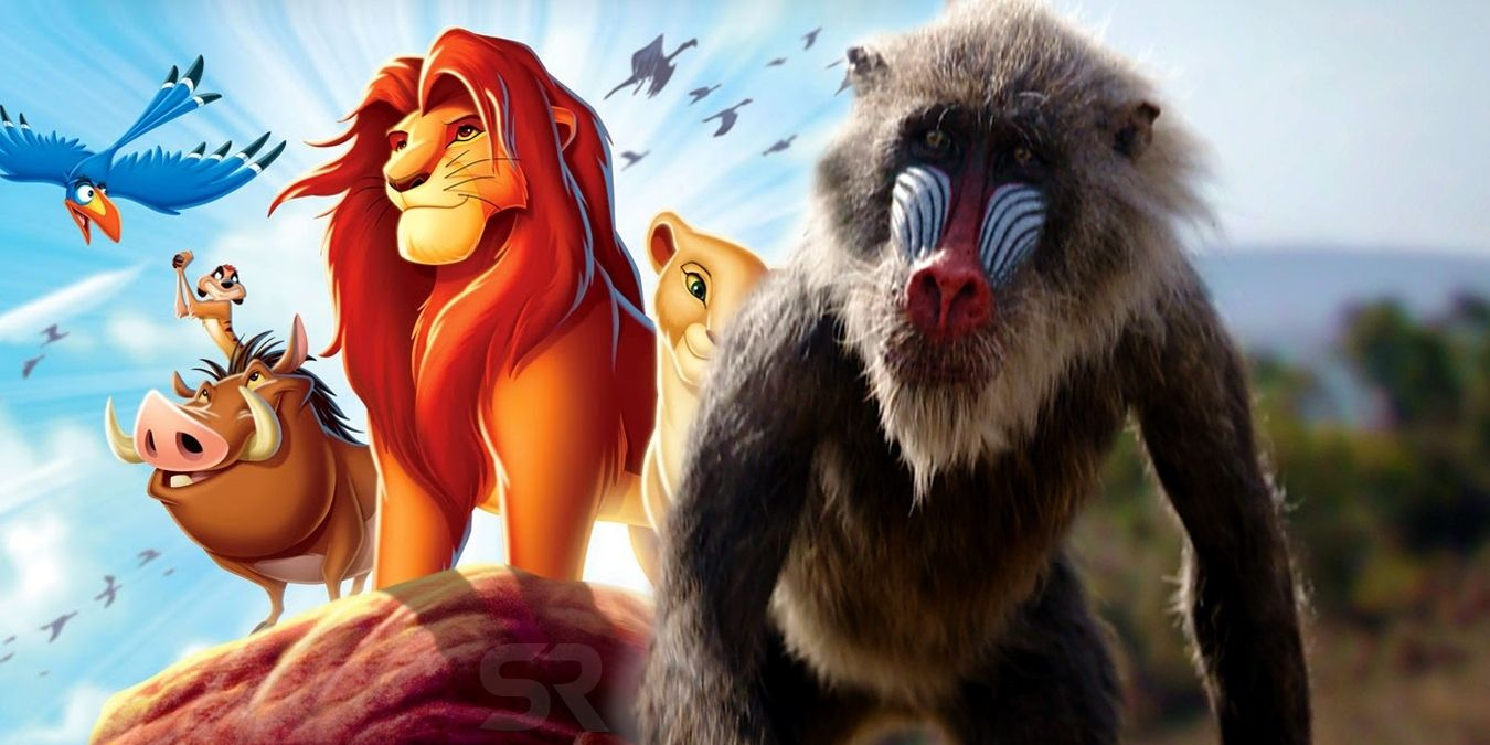 Lion King Remake Trailer Already Fixes Original Movie Mistakes Lion King Rafiki