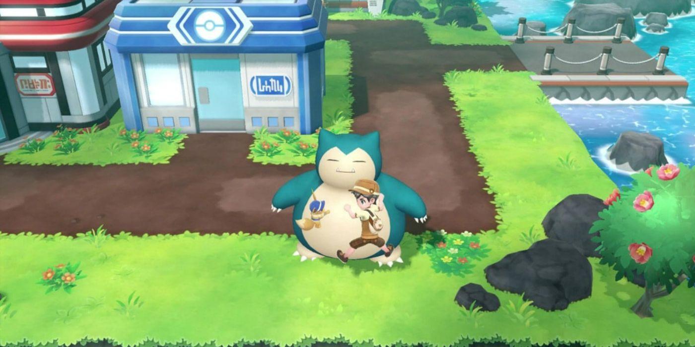 Pokémon Let's Go: How to Wake Snorlax & Get the Poké Flute
