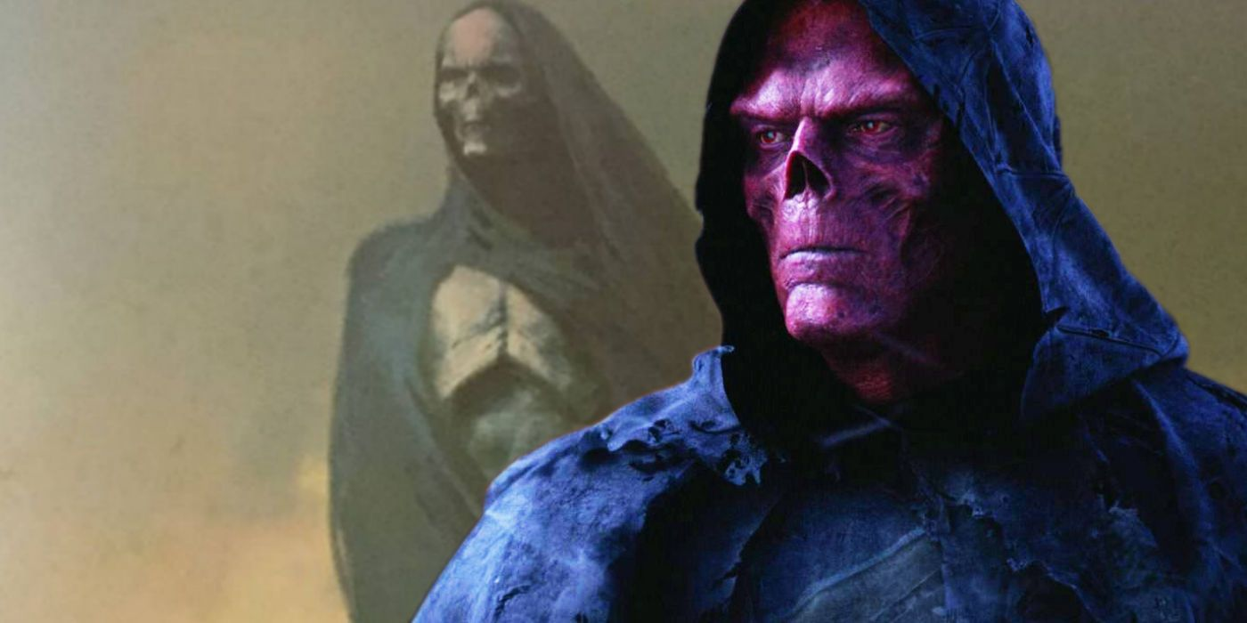Soul Stone Turned Red Skull Into A Ghost in Infinity War Concept Art