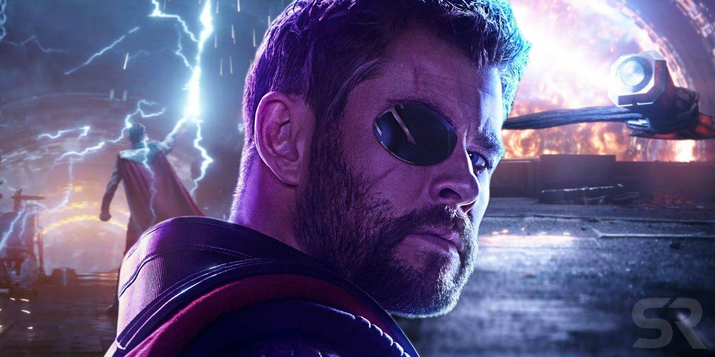 Infinity War Concept Art Suggests Thor Wasn't Always Going To MAKE Stormbreaker