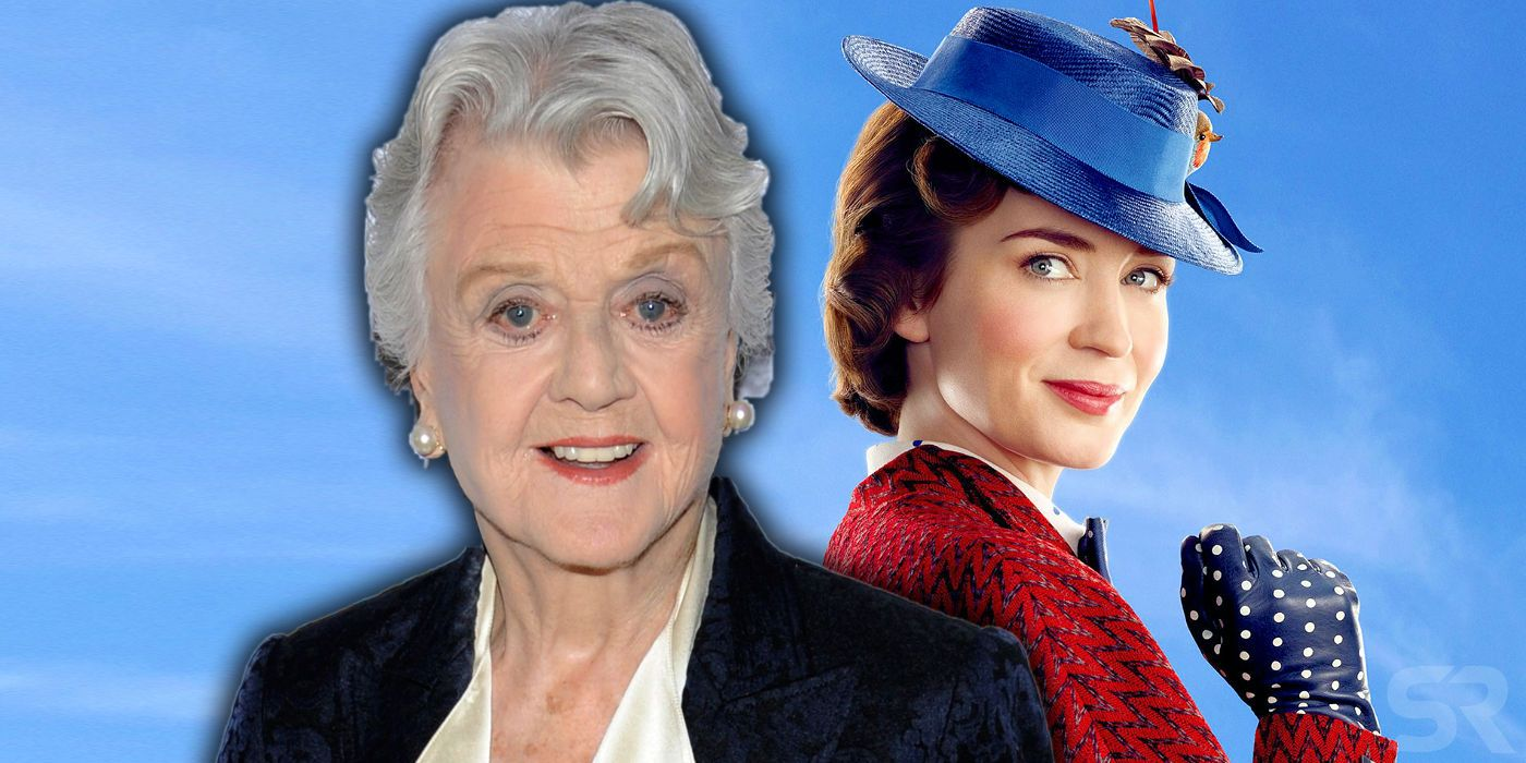 Was Angela Lansbury S Balloon Lady In The Original Mary Poppins