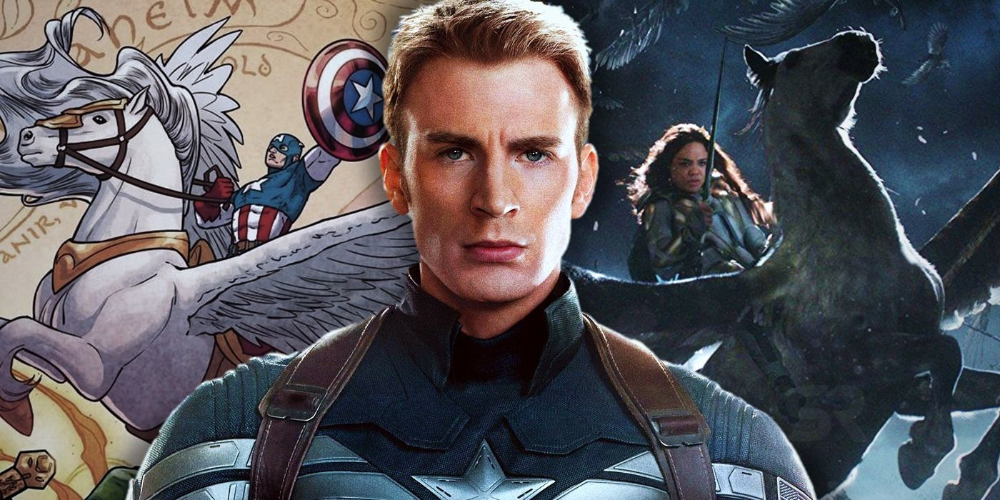 Captain America Is Joining Thors Flying Valkyrie ScreenRant