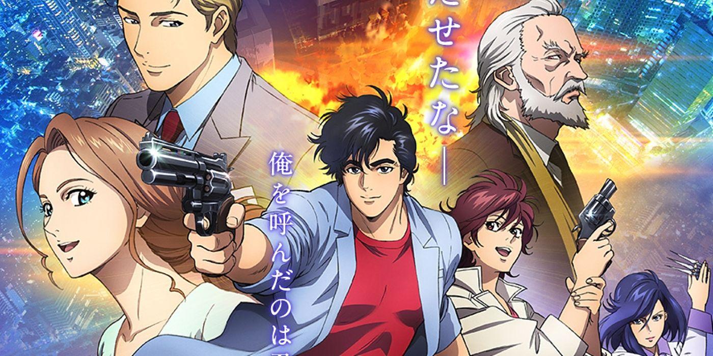 City Hunter Anime Movie Reveals Official Trailer Title Cast