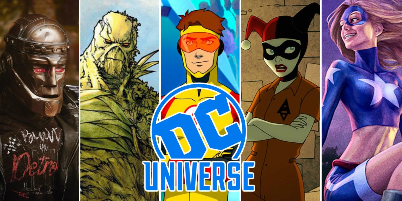 DC Universe: Every Upcoming Original TV Show | ScreenRant