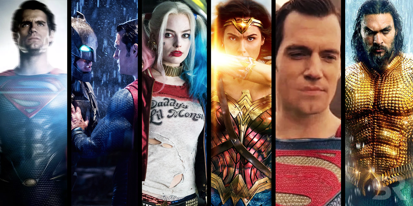Every DCEU Movie Ranked From Worst To Best (Including Aquaman)