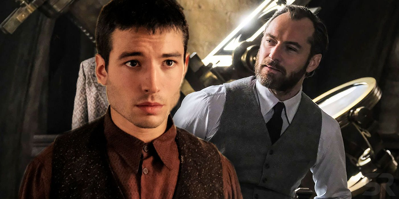Fantastic Beasts 2 Theory: Credence Is Albus Dumbledore's SON, Not
