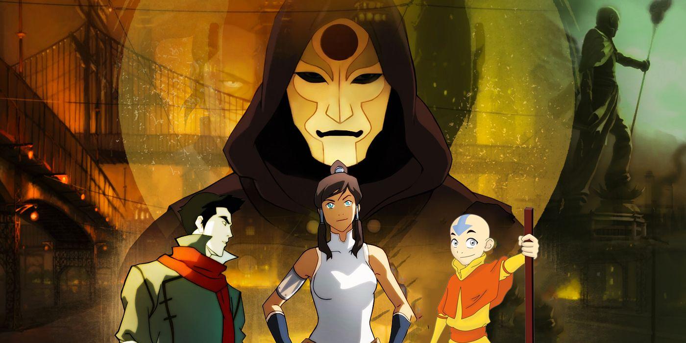 Aang Korra 10 legend of korra characters strong enough to take on aang