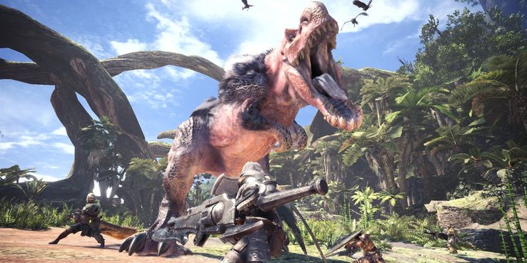 Ilustrasi monster hunter