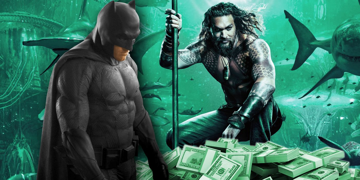 Why Aquaman Is The First DCEU Film To Pass $1 Billion (Not