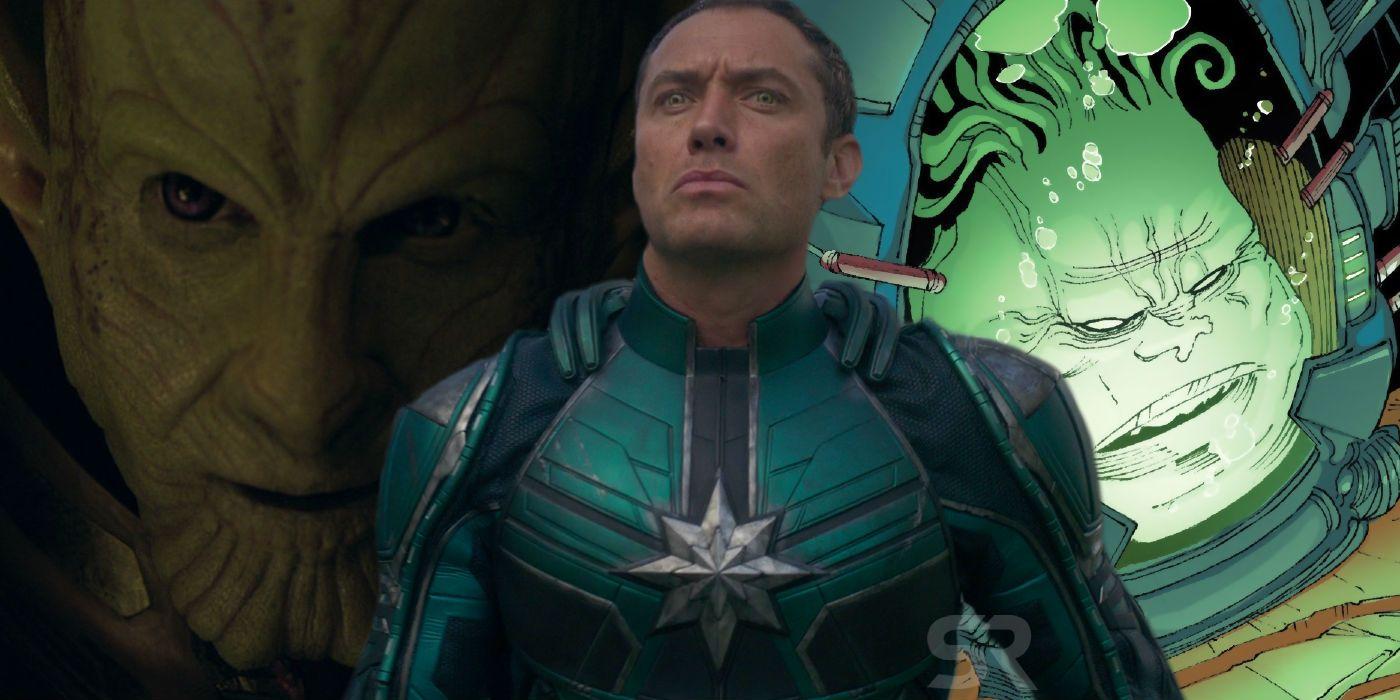 Captain Marvels Kree Skrull Conflict Supreme Intelligence Explained