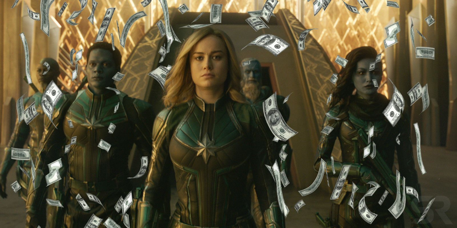 captain marvel projected for $160m opening weekend | screenrant