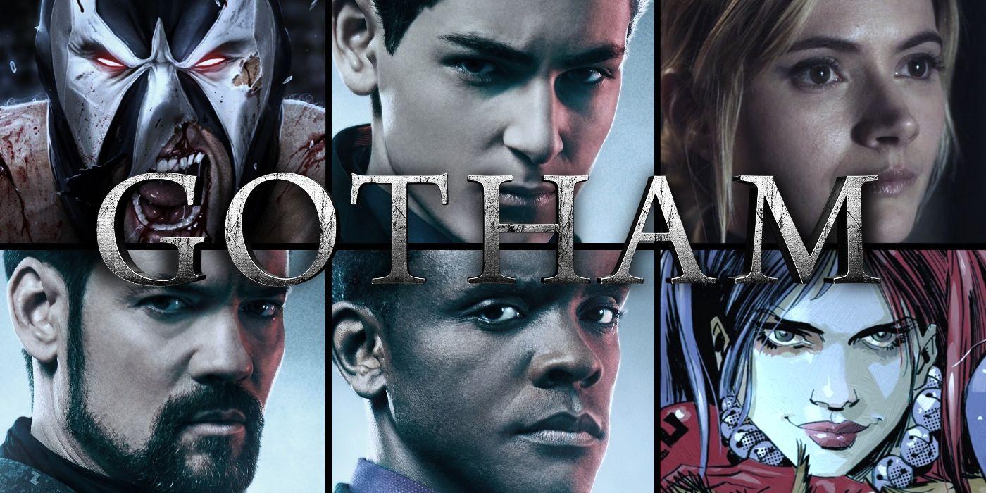 Gotham Season 5 Cast & Villain Guest Star Guide | Screen Rant