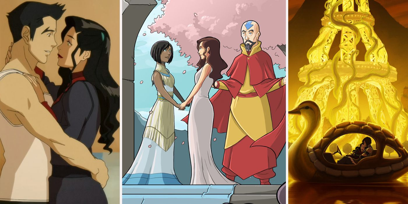 Legend Of Korra: 25 Wild Revelations About Korra And Asami's ...