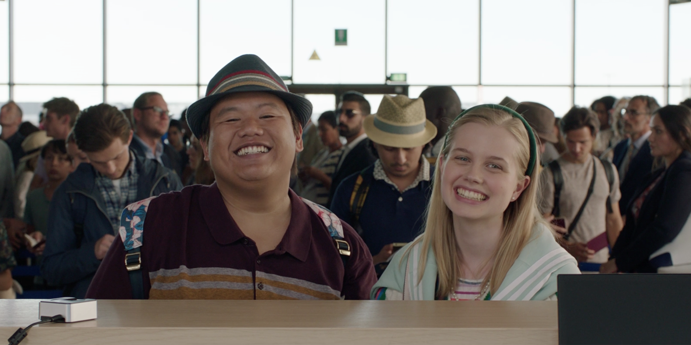 Far From Home: Ned & Betty Are A Couple (Starting On Flight To Europe)