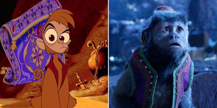 Aladdin 2019 Cast Compared To The Animated Movie Screenrant