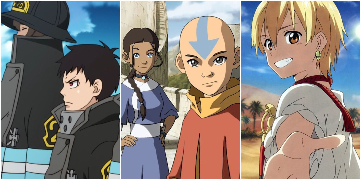 Anime To Watch If You Liked Avatar Screenrant