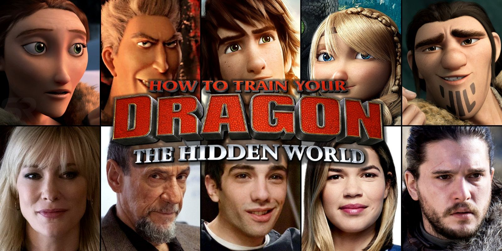 How To Train Your Dragon 3 Voice Cast Where You Recognize Them From