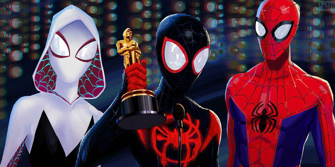 Spider-Man Into Spider Verse - Best Animation Feature Oscar 2019