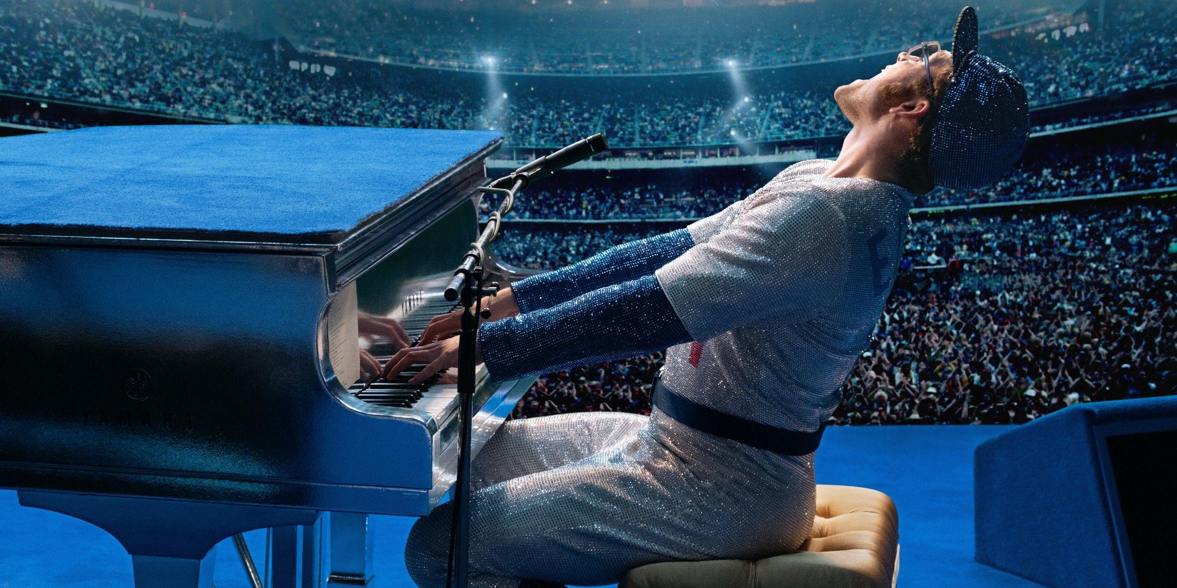 rocketman  2019  movie trailer teases elton john biopic